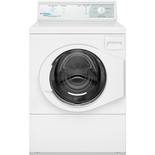 Commerical Washer For Home ~ Commercial home style front load washer rear white speed