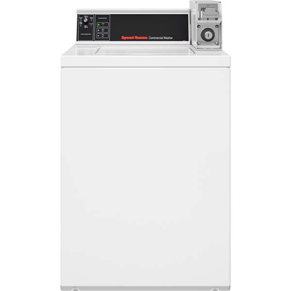 Swnsx2sp115tw02 Speed Queen Coin Operated White Topload Washer