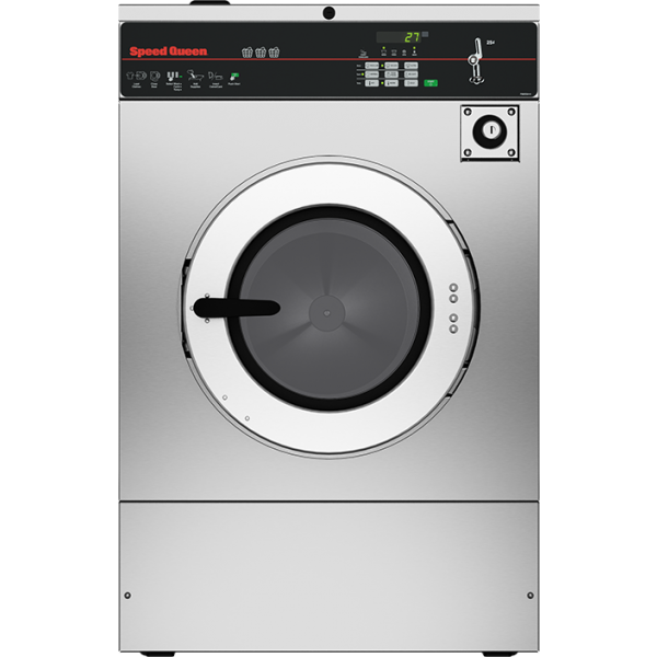 Coin Operated Washer Extractor Hardmount 30lb Speed
